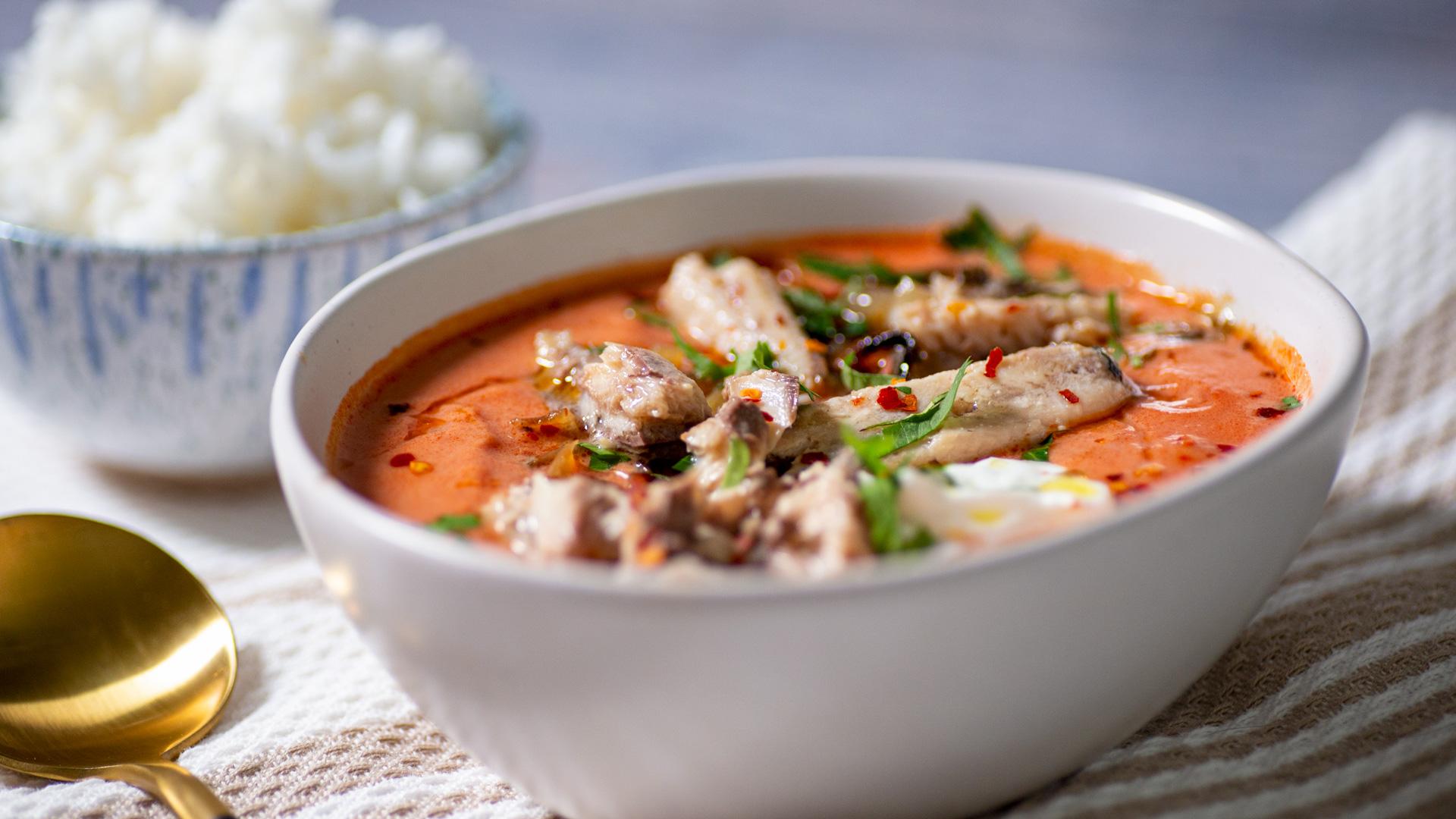 Easy Sardine Curry