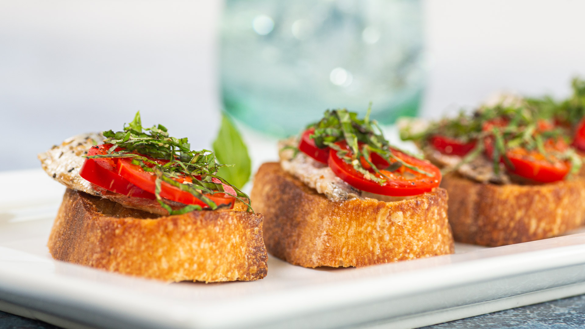 Crostini with Canned Sardines