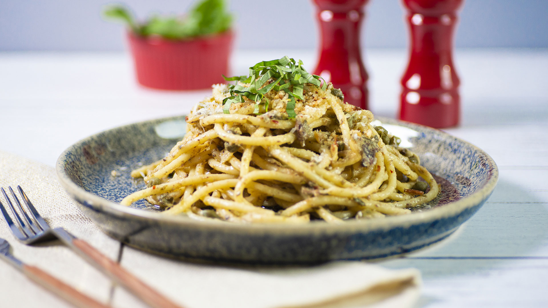 Anchovy Butter Pasta
