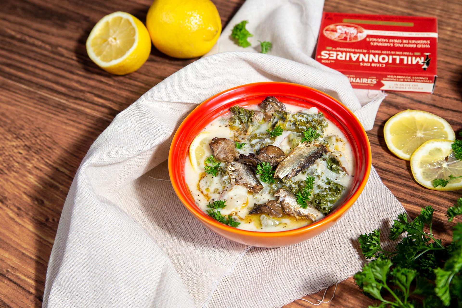 Sardine Chowder